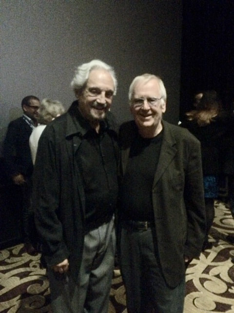 Ted Howe with Hal Linden at the Newport Beach Film Festival